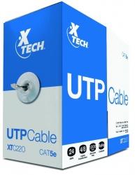 Xtech Bobina de Cable Cat5e UTP, 305 Metros