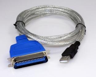 Xtech Cable USB 2.0 - Paralelo, 1.8 Metros, Transparente