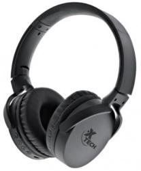 Xtech  Audífonos con Micrófono Sphere, Bluetooth, Inalámbrico, Negro