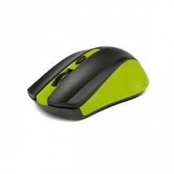 Mouse Xtech Óptico Galos, RF Inalámbrico, 1600DPI, Negro/Verde