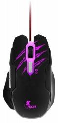 Mouse Gamer Xtech Óptico Lethal Haze, Alámbrico, USB, 3200DPI, Negro
