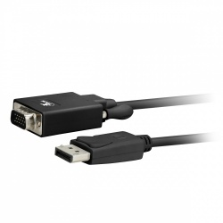 Xtech Cable DisplayPort Macho - VGA (D-Sub) Macho, 1.8 Metros, Negro