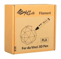 XYZprinting Bobina de Filamento Jr. PLA, Diámetro 1.75mm, Azul/Verde/Naranja/Rojo/Blanco/Amarillo, para Da Vinci 3D Pen