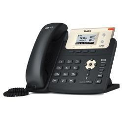 Yealink Teléfono IP con Pantalla SIP-T21P-E2, 2 Lineas, Negro