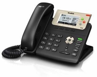 Yealink Teléfono IP con Pantalla SIP-T23G, 3 Lineas, Alámbrico, Altavoz, Negro