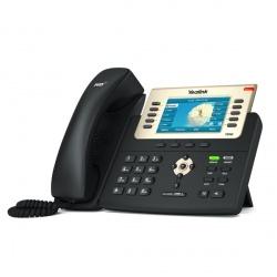 Yealink Teléfono IP con Pantalla 4.3'' SIP-T29G, Altavoz, Negro