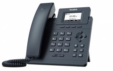 Yealink Teléfono IP SIP-T30, Alámbrico, 1 Linea, Altavoz, Negro
