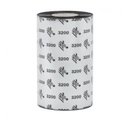 Cinta Zebra con Cera/Resina ZipShip 3200, 110mm x 450m, 6 Rollos
