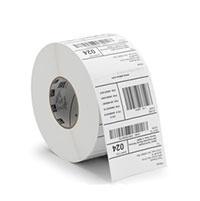 Zebra Rollo de Etiquetas 10018340, 4'' x 6'', 1000 Etiquetas, Blanco