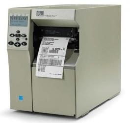 Zebra 105SLPlus, Impresora de Etiquetas, Transferencia Térmica, Alámbrico, Serial, Paralelo, USB, 203 x 203DPI, Gris