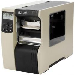 Zebra R110Xi4, Impresora de Etiquetas, Transferencia Térmica, 600DPI, RS-232/USB 2.0, Negro/Gris
