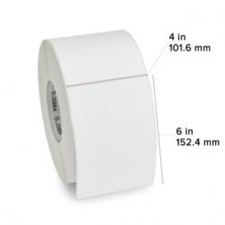 "Zebra Rollo de Etiquetas Z-Select 4000T, Transferencia térmica, 4"" x 6"", 950 Etiquetas"