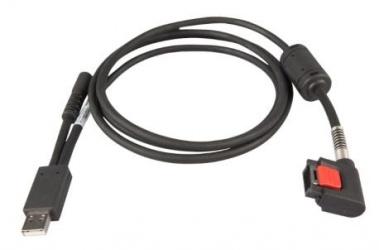 Zebra Cable para Cargador WT6000, Negro