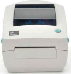 Zebra GC420d, Impresora de Etiquetas, 203 x 203DPI, Térmica Directa, USB, RS-232, Blanco