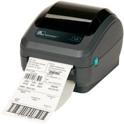Zebra GK420d, Impresora de Etiquetas, Térmica Directa, 203 x 203 DPI, RS-232/USB 1.1, Negro/Gris