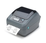 Zebra GX420d, Impresora de Etiquetas, Térmica Directa, 203DPI, Serial, USB, Ethernet, Gris