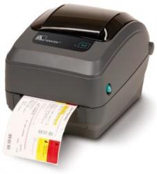 Zebra GX430t Impresora de Etiquetas, Térmica Directa/Transferencia Térmica, 300 x 300DPI, Paralelo, USB, Gris