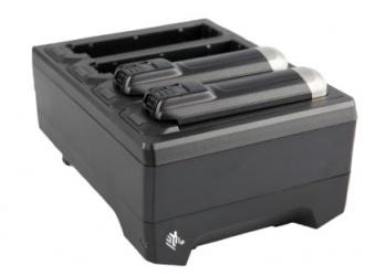 Zebra Cargador de Baterías SAC-NWTRS-4SCH-01, para 4 Baterías, Negro