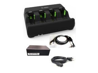 Zebra Kit de Cargador de Batería ― Incluye 1 Cable de Línea CC/CA, Fuente de Poder PWR-BGA12V50W0WW