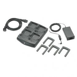Zebra Kit Cargador de Baterías, 4 Ranuras, para MC70/75