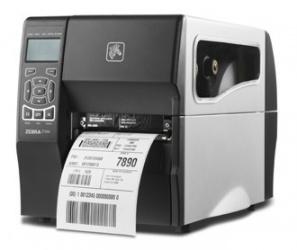 Zebra ZT230, Impresora de Etiquetas, Transferencia Térmica, 203 x 203DPI, Negro/Plata