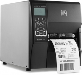 Zebra ZT230 Impresora de Etiquetas, Transferencia Térmica, 300 x 300 DPI, RS-232, Negro/Gris