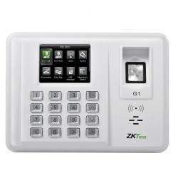 ZKTeco Control de Acceso y Asistencia Biométrico G1, 5000 Usuarios, USB, Blanco