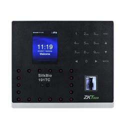 ZKTeco Control de Acceso y Asistencia Biométrico SILKBIO-101TC, 100.000 Registros, USB, RJ-45