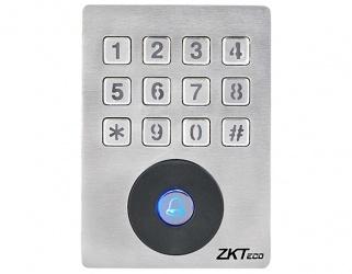 ZKTeco Lector de Tarjetas con Teclado SKW-H2, 1000 Usuarios, Plata