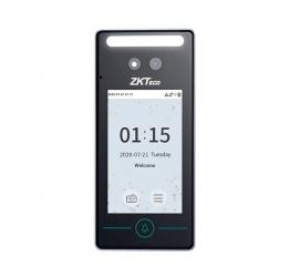 ZKTeco Control de Acceso y Asistencia Biométrico SpeedFace V4L, Reconocimiento Facial, 1000 Tarjetas, 800 Rostros/Palmas, USB