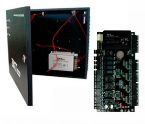ZKTeco Panel Controlador de Acceso para 4 Puertas C3-400, 30.000 Tarjetas, 100.000 Eventos