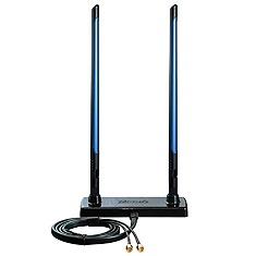 Zonet Antena Omnidireccional ZWA1207, 7dBi, 2.4GHz