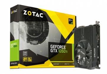 Tarjeta de Video ZOTAC NVIDIA GeForce GTX 1050 Ti Mini, 4GB 128-bit GDDR5, PCI Express 3.0