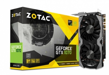 Tarjeta de Video ZOTAC NVIDIA GeForce GTX 1070 Mini, 8GB 256-bit GDDR5, PCI Express 3.0 ― ¡Recibe Fortnite Counterattack Set!