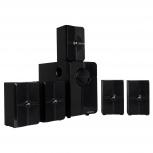Acteck Sistema de Bocinas AC-922074, Bluetooth, Alámbrico, 5.1 Canales, 20W RMS, USB, Negro