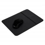 Mouse Acteck Óptico KM110 + Mousepad con Carga Inalámbrica, RF Inalámbrico, 1600DPI, Negro