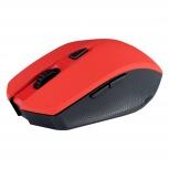 Mouse Acteck Óptico M120, RF Inalámbrico, 1600DPI, Rojo