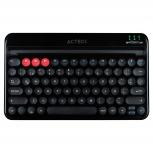 Teclado Multidispositivo Acteck TX30, Inalámbrico, Bluetooth, Negro (Español)