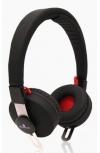 Acteck Audífonos AS-600, Inalámbrico, Bluetooth, Negro/Rojo