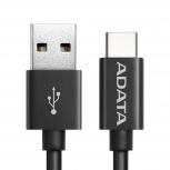 Adata Cable USB-C Macho - USB A Macho, 2 Metros, Negro