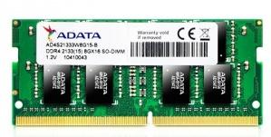 Memoria RAM Adata DDR4, 2133MHz, 8GB, SO-DIMM