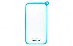 Cargador Portátil Adata PowerBank D8000L, 8000mAh, Azul/Blanco