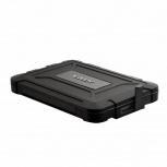 Adata Gabinete de Disco Duro ED600 2.5'', SATA III, USB 3.1, Negro