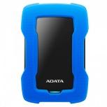 Disco Duro Externo Adata HD330 2.5'', 2TB, USB 3.1, Azul/Negro, A Prueba de Golpes - para Mac/PC