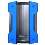 Disco Duro Externo Adata HD830, 2TB, USB, Azul, A Prueba de Agua, Polvo y Golpes - para Mac/PC