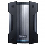Disco Duro Externo Adata HD830, 4TB, USB, Negro, A Prueba de Agua, Polvo y Golpes - para Mac/PC