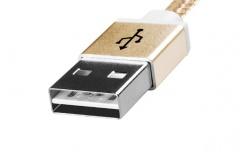 Adata Cable USB 2.0 A - Micro USB 2.0 B para Android/Windows, 1 Metro, Dorado