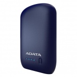 Cargador Portátil Adata P10050, 10.050mAh, Azul