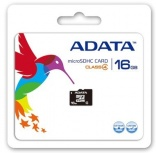 Memoria Flash Adata, 16GB microSDHC Clase 4, con Adaptador