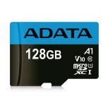 Memoria Flash Adata Premier, 128GB MicroSDXC UHS-I Clase 10, con Adaptador